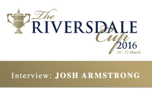 Interview Josh Armstrong